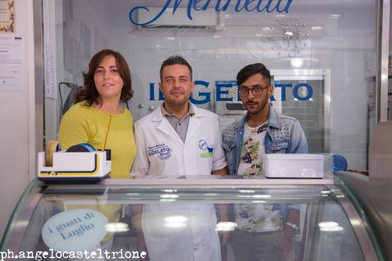 Photo Angelo Casteltrione per Tavolo per 2 - Gelateria Artigianale Mennella